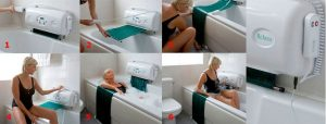 Relaxa Bath Lift - Step by Step