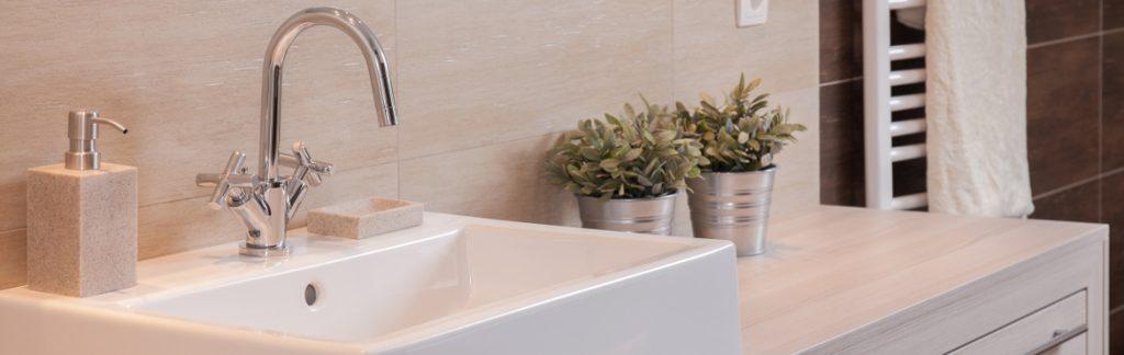 Clean Modern Sink Area